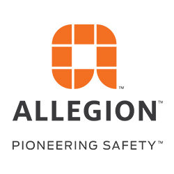 Allegion Pioneering Safety Logo