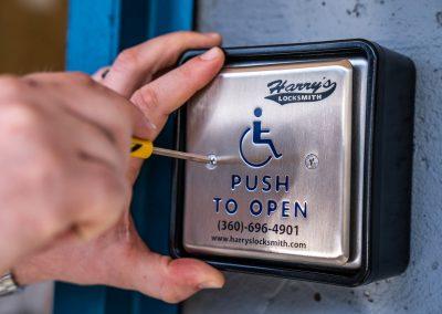 ADA Compliant Door Push Button