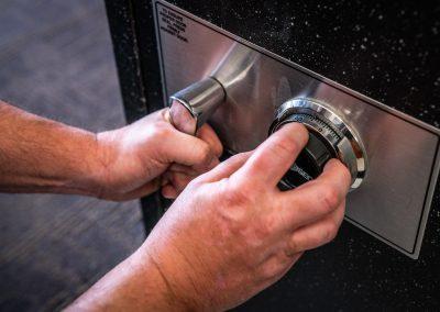High Security  AMSEC Safe